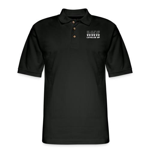 Level Up - Men's Pique Polo Shirt