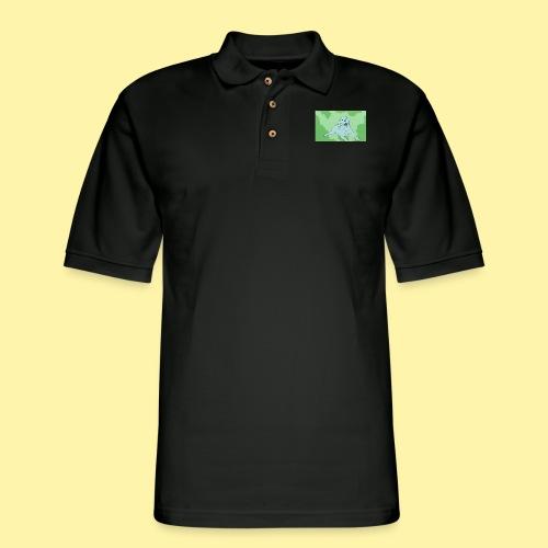 dot2 - Men's Pique Polo Shirt