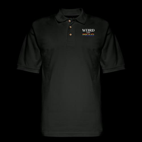 Weird Proud - Men's Pique Polo Shirt