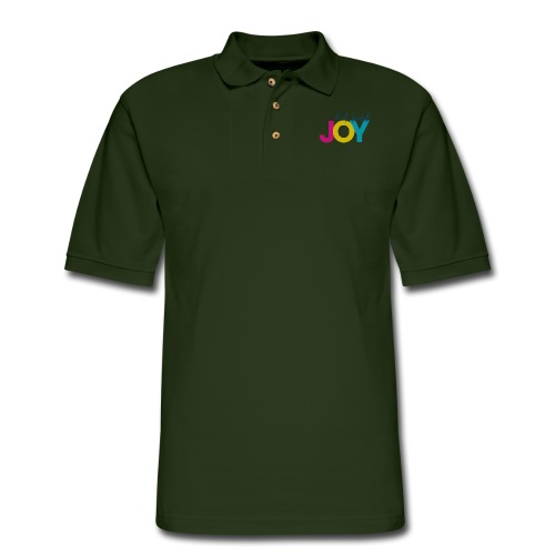 But First, Joy - Men's Pique Polo Shirt