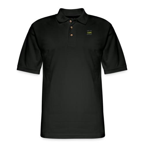 Are_you_game_enough - Men's Pique Polo Shirt