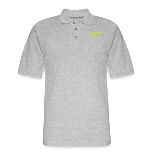 Paul Does Tech Yellow Logo With USB (MERCH) - Men's Pique Polo Shirt