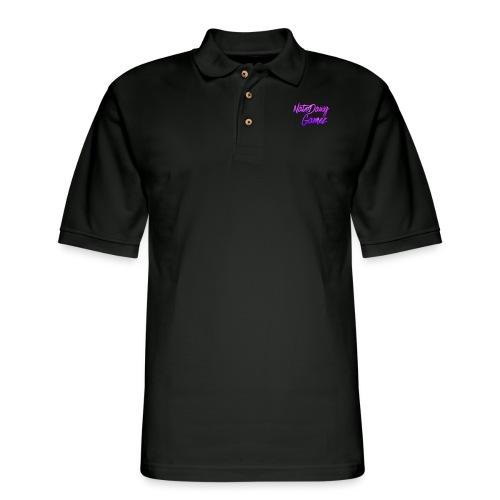 Galaxy Nate- - Men's Pique Polo Shirt