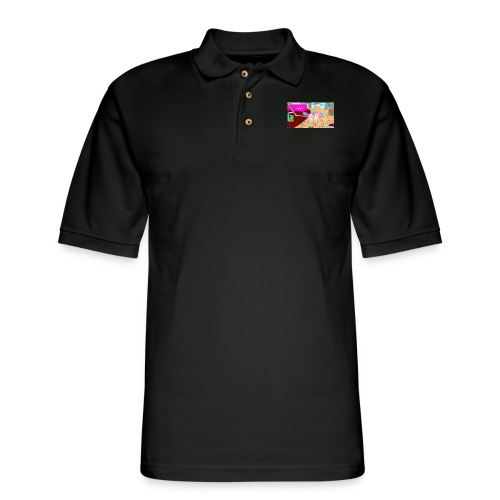 #twinselfie!!! - Men's Pique Polo Shirt