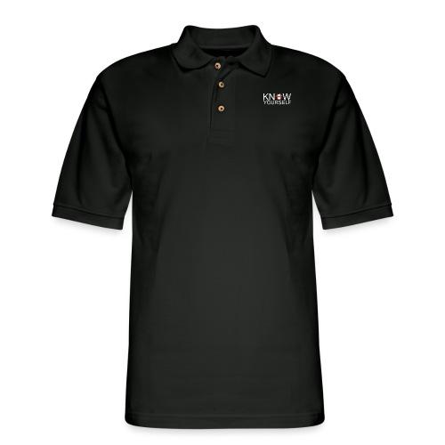 Know Yourself - Men's Pique Polo Shirt