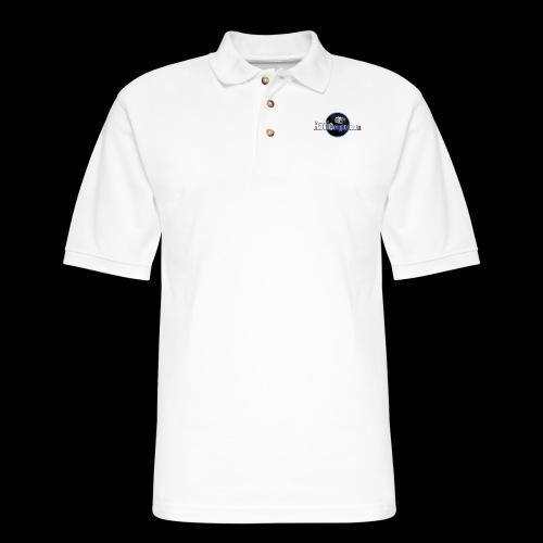 RadioCrypto Logo 1 - Men's Pique Polo Shirt