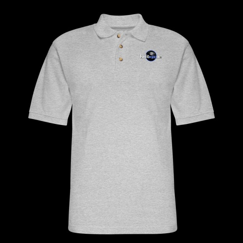 RadioCrypto Logo 1 - Men's Pique Polo Shirt