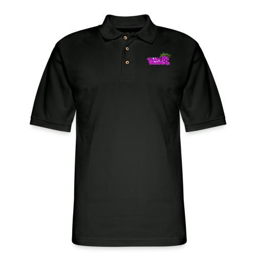 Grape Drank - Men's Pique Polo Shirt
