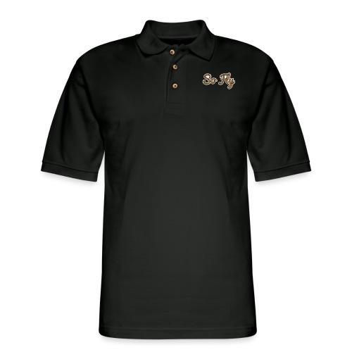 So Fly Cheetah - Men's Pique Polo Shirt