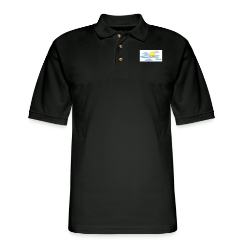Sea of Clouds - Men's Pique Polo Shirt