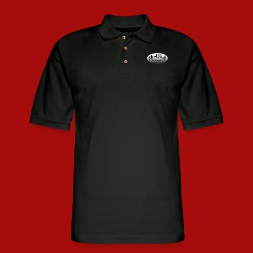 BloodShot Airbrushing Logo - Men's Pique Polo Shirt