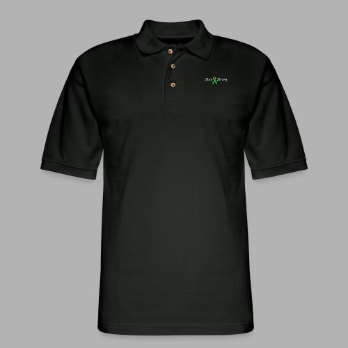 Stay Strong - Men's Pique Polo Shirt