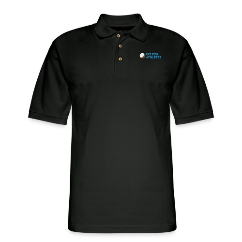 Fat For Athletes Merch - Men's Pique Polo Shirt