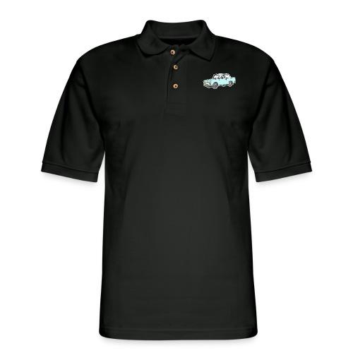 Trabant (lightblue) - Men's Pique Polo Shirt