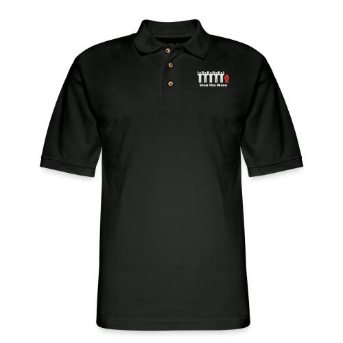 Men's Stop The Wave Logo T-Shirt - Men's Pique Polo Shirt