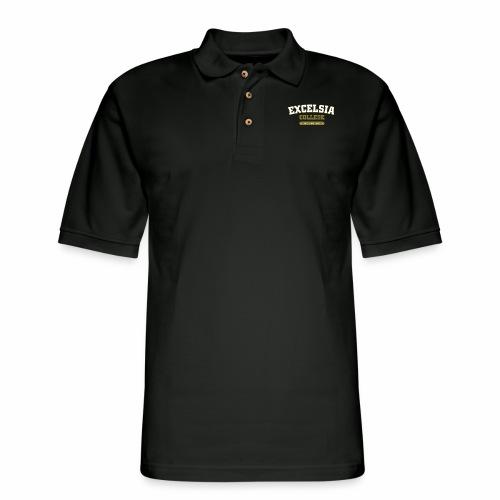 Merchandise logo artwork outlines - Men's Pique Polo Shirt