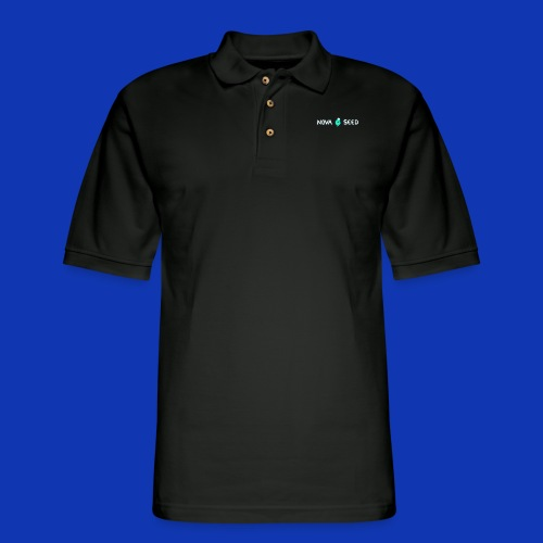 Nova Seed title - Men's Pique Polo Shirt