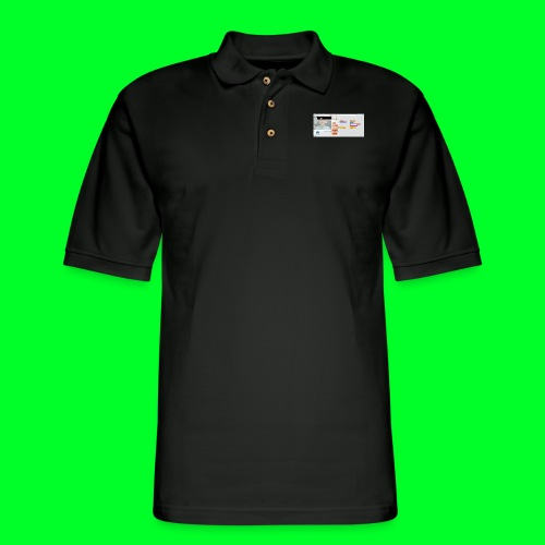 the only jendder is boy - Men's Pique Polo Shirt