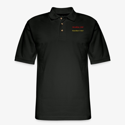 GUARDIANS UNITE - Men's Pique Polo Shirt