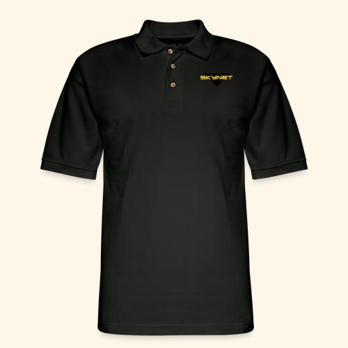 Skynet - Men's Pique Polo Shirt