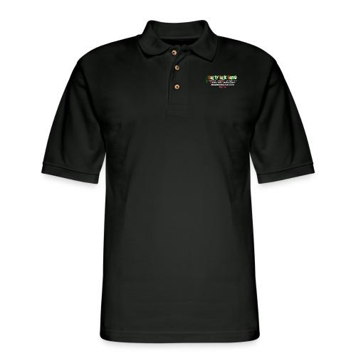 str back png - Men's Pique Polo Shirt