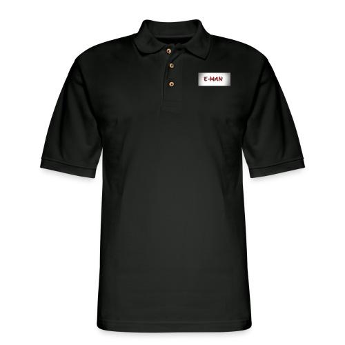 E-MAN - Men's Pique Polo Shirt