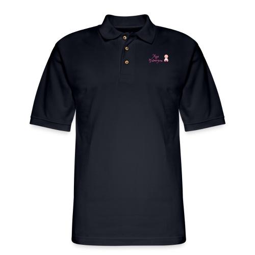 Girls Mini Taswegian - Men's Pique Polo Shirt