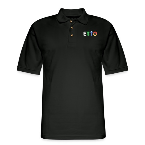Simple, But Effective - Men's Pique Polo Shirt