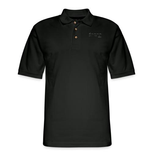 dance your heart out - Men's Pique Polo Shirt