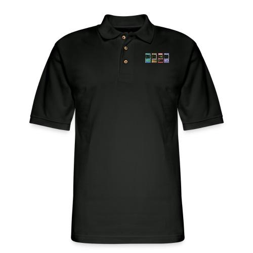Arcade time - Men's Pique Polo Shirt