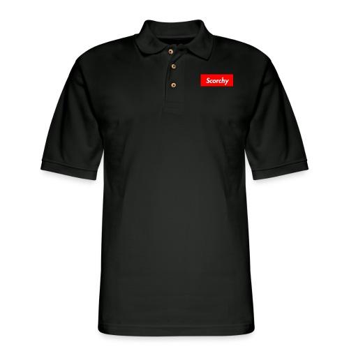 Scorchy HypeBeast - Men's Pique Polo Shirt