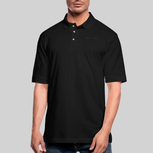 Vegan Panorama Mug - Men's Pique Polo Shirt