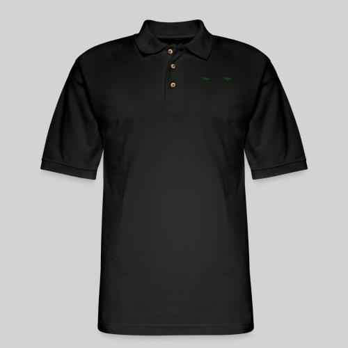Vegan Panorama Mug - Men's Pique Polo Shirt
