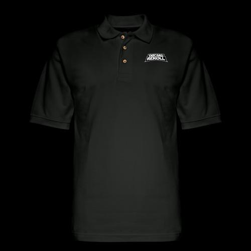 Discard to Reroll: Logo Only - Men's Pique Polo Shirt