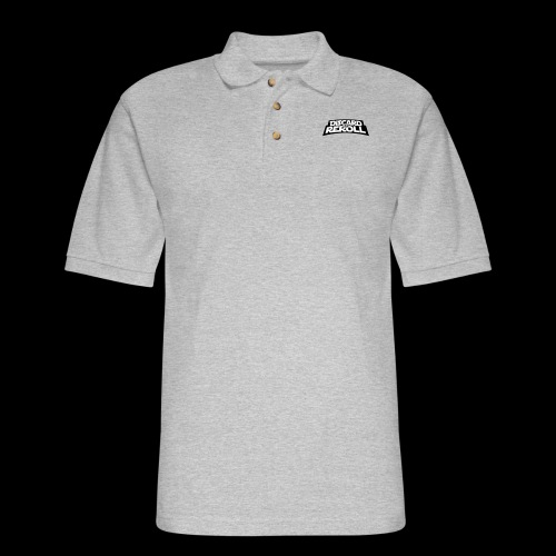 Discard to Reroll: Logo Only - Men's Pique Polo Shirt