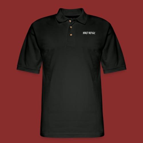 Midnight Nightmare Logo-w - Men's Pique Polo Shirt