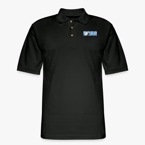 Dogo argentino. Dogo argentine, - Men's Pique Polo Shirt