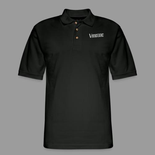 Vandello Logo-White - Men's Pique Polo Shirt
