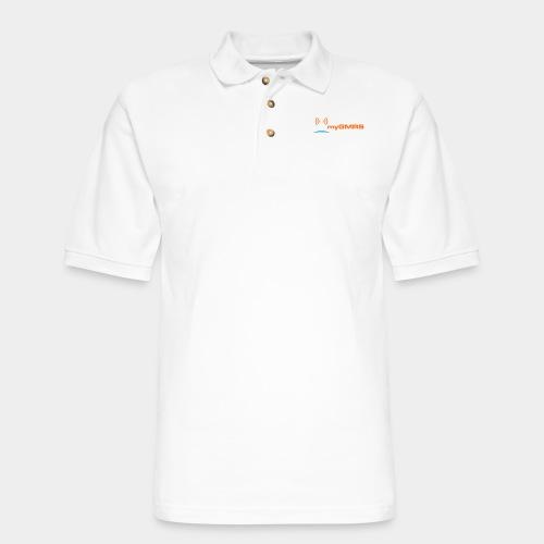 myGMRS.com Logo - Men's Pique Polo Shirt