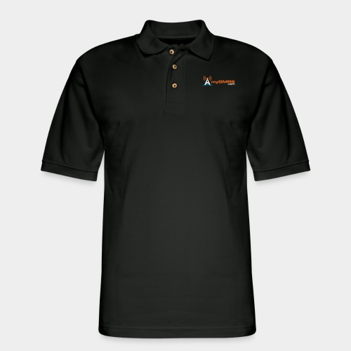 myGMRS.com Logo - Men's Pique Polo Shirt