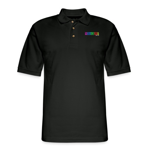 The Dirty FM transparent - Men's Pique Polo Shirt