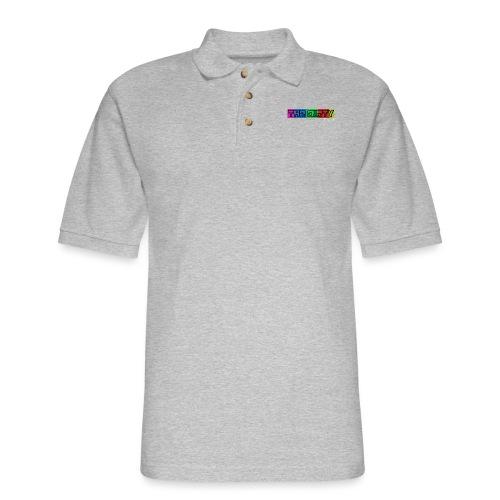 The Dirty FM transparent - Men's Pique Polo Shirt