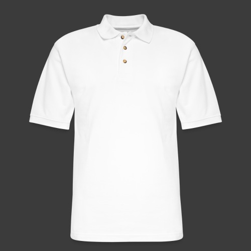 White Include Heart - Men's Pique Polo Shirt