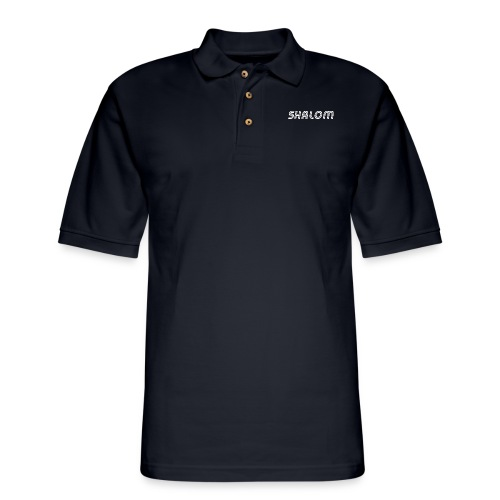 Shalom, Peace - Men's Pique Polo Shirt