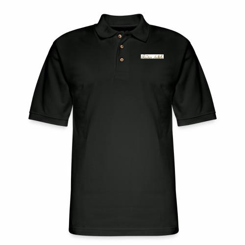 raden saleh signature shirts gross - Men's Pique Polo Shirt