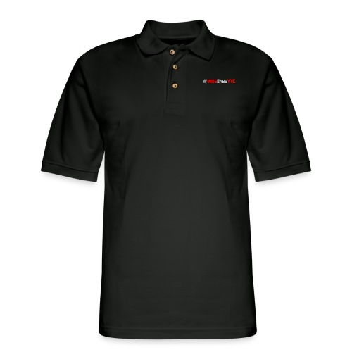 #LOGO - Men's Pique Polo Shirt