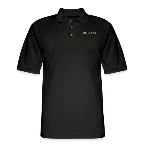 MK ULTRA.png - Men's Pique Polo Shirt
