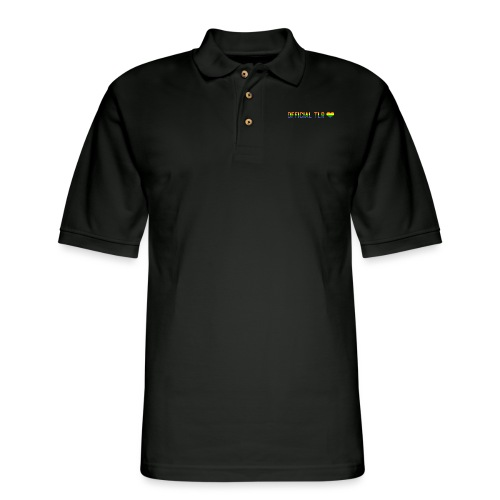 The Lesbian Romantic Merch - Pride Edition - Men's Pique Polo Shirt