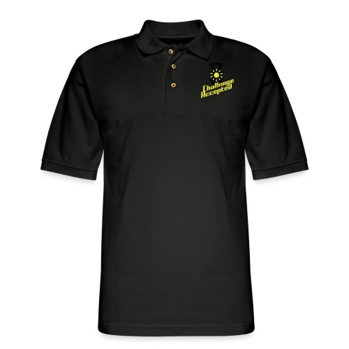 Challenge Accepted - Men's Pique Polo Shirt