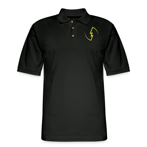 Electric Spark - Men's Pique Polo Shirt